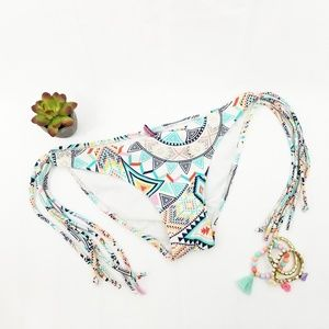 Apollo Swim Cheeky Tassel Bikini Bottom K02